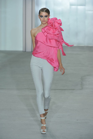Показы мод Temperley London Весна-лето 2009 | Подиум на ELLE - Подиум - фото 3381