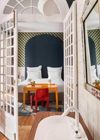 Яркий отель Casa Fortunato в Лиссабоне (фото 9.1)