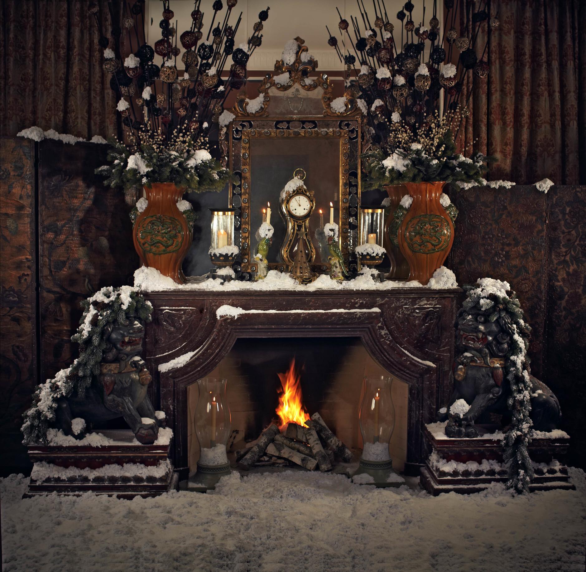 Рождество у камина: 10 идей праздничного декора (галерея 0, фото 2)