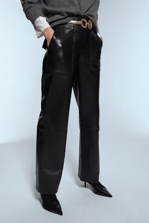 Кожаные брюки: какие купить и с чем носить (фото 17.2)