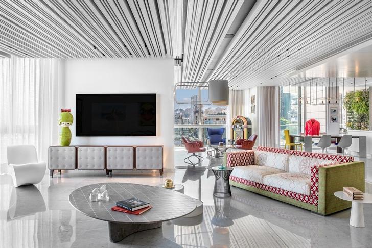 Дом для коллекционера искусства в Бейруте (фото 3)