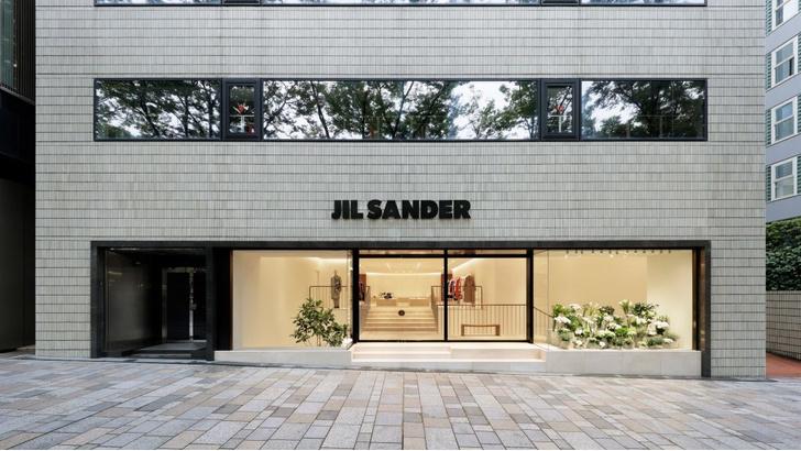 Бутик Jil Sander в Токио (фото 9)