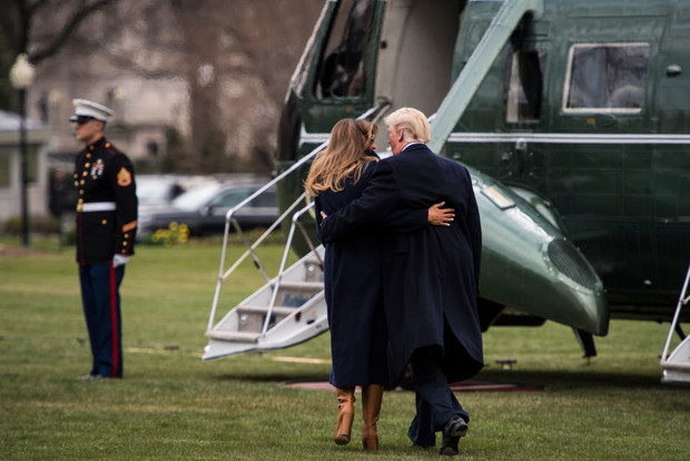 Что на самом деле происходит в отношениях Дональда и Мелании Трамп (фото 0)