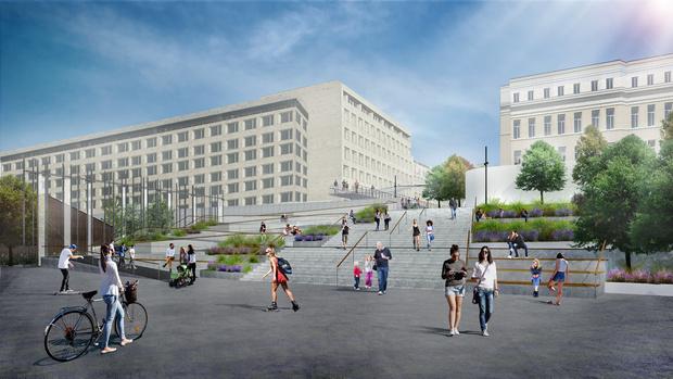 Новый вход в парк Горького по проекту бюро Wowhaus (фото 0)
