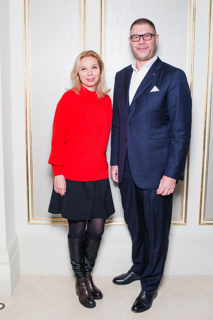 Елена Алексеева и Дмитрий Еремеев (Richemont Россия)