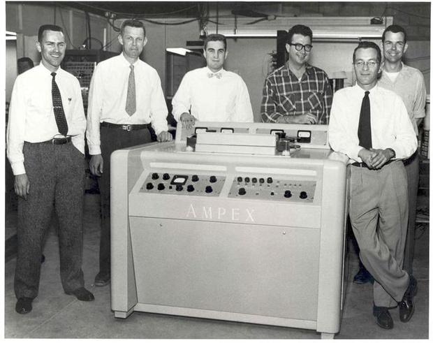 в апреле 1956 года был представлен первый в истории видеомагнитофон