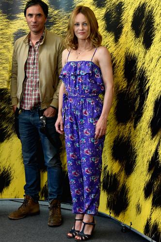 Ванесса Паради и Самюэль Беншетри на фотоколле фильма «Собака»