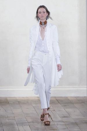 Показ Ralph Lauren коллекции сезона Весна-лето 2011 года prêt-à-porter - www.elle.ru - Подиум - фото 177886