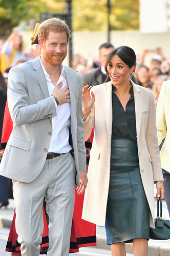 Принц Гарри и Меган Маркл прибыли в Чичестер с официальным визитом (фото 1.2)
