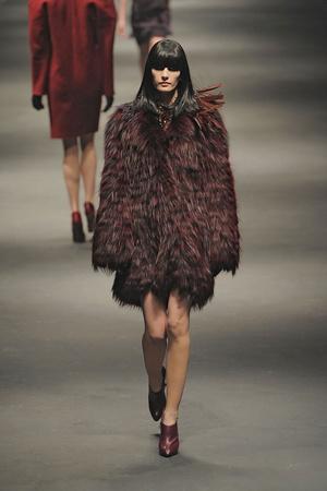 Показы мод Lanvin Осень-зима 2010-2011 | Подиум на ELLE - Подиум - фото 2723