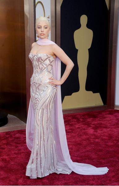 Леди Гага в Atelier Versace