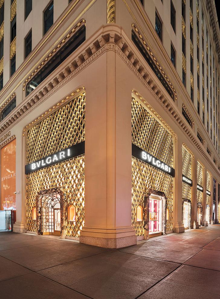 Питер Марино оформил бутик Bvlgari в Нью-Йорке (фото 0)