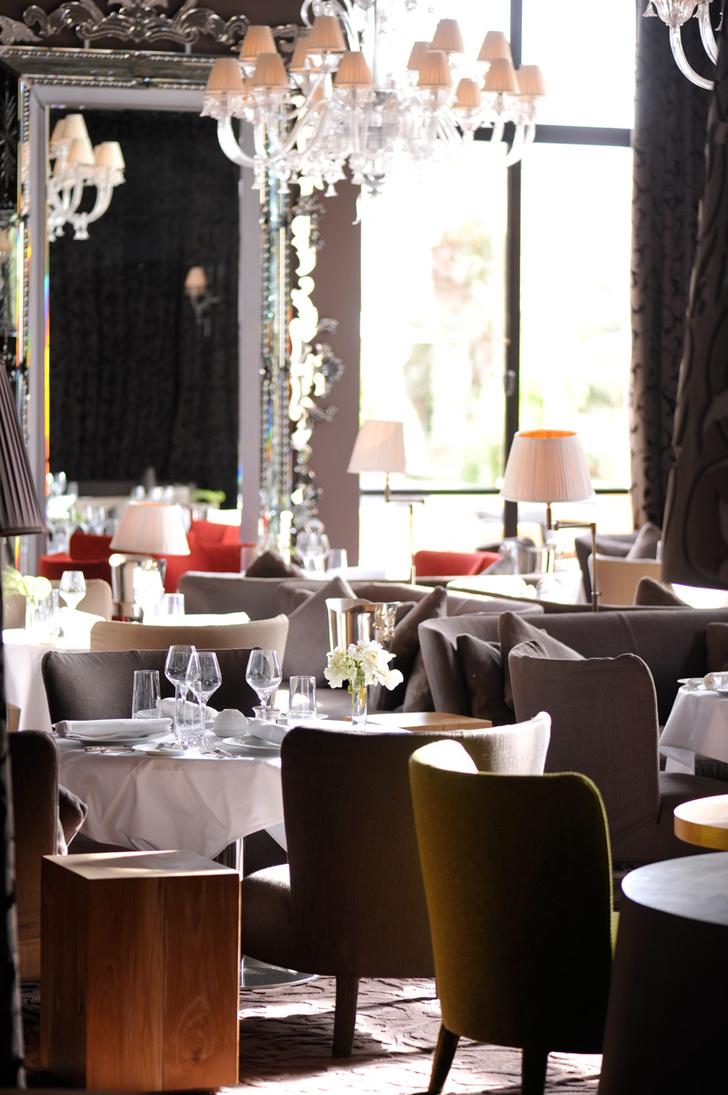 В ресторане Le Namascar можно отведать блюда высокой французской кухни.