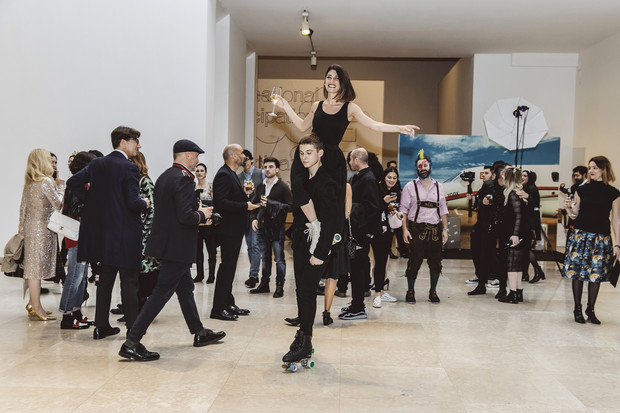 Как прошла самая модная арт-вечеринка в Милане? (фото 3)