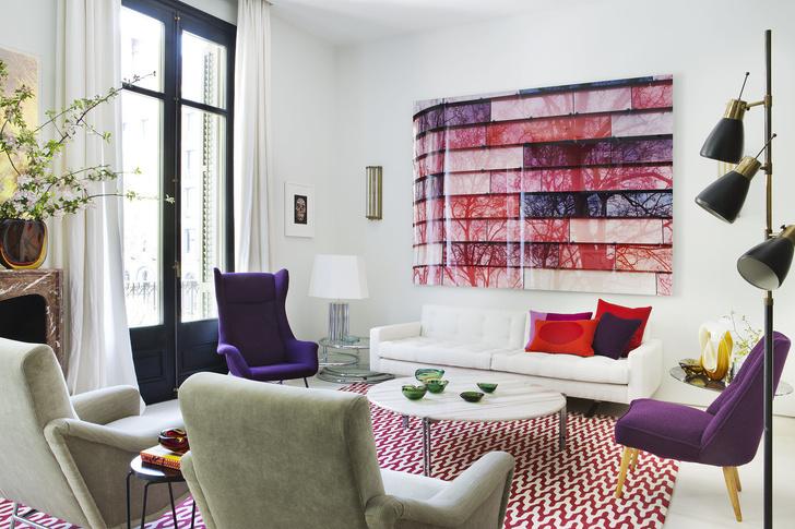 Яркие ковры: 25 примеров (галерея 1, фото 16)