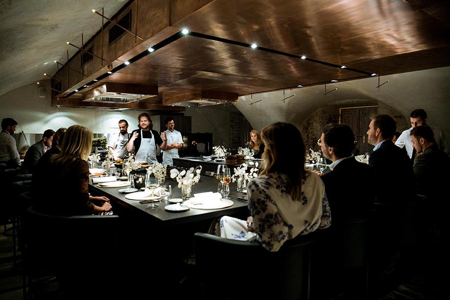 Открылся ресторан Chef's Table | галерея [1] фото [1]