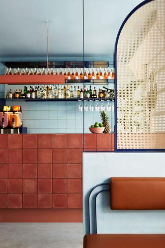 Все оттенки терракоты: ресторан в Сиднее (фото 3.1)