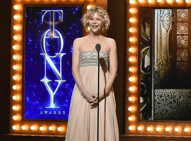 Мег Райан на вручении премии Tony Awards