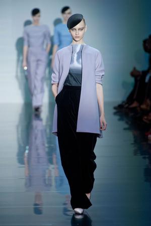 Показы мод Giorgio Armani Privé Осень-зима 2012-2013 | Подиум на ELLE - Подиум - фото 1352