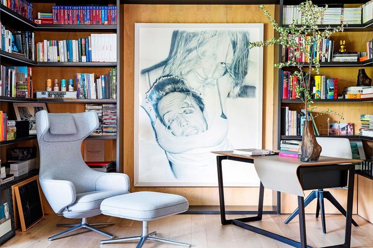 Современная квартира с яркими акцентам в центре Мадрида (фото 8)