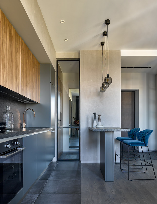 Брутальная квартира 78 м² с элементами минимализма (фото 7)