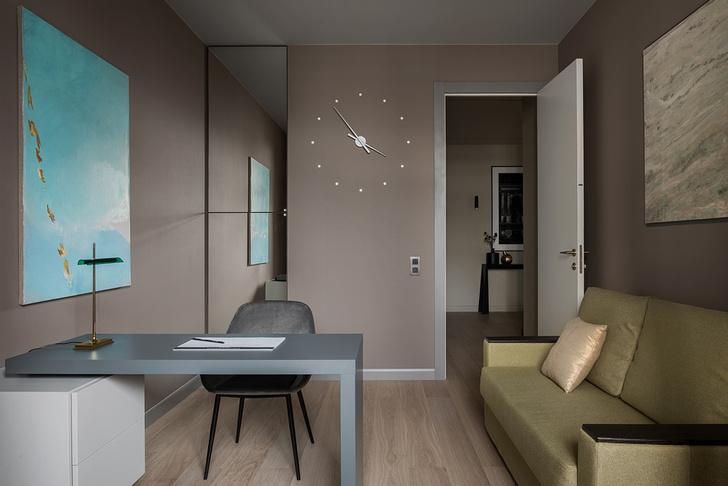 Уютный минимализм: московская квартира 150 м² (фото 14)