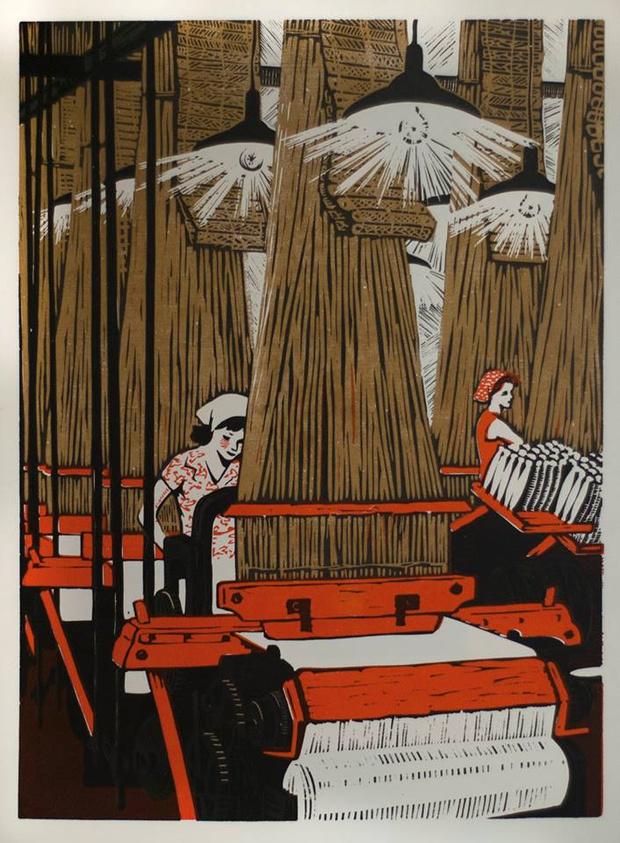 Выставка «Ткани Москвы» в Музее Москвы (фото 4)
