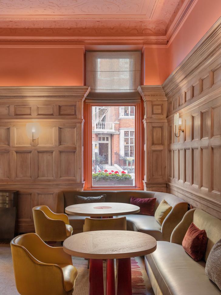 Ресторан по проекту Пьера Йовановича в отеле The Connaught (фото 4)