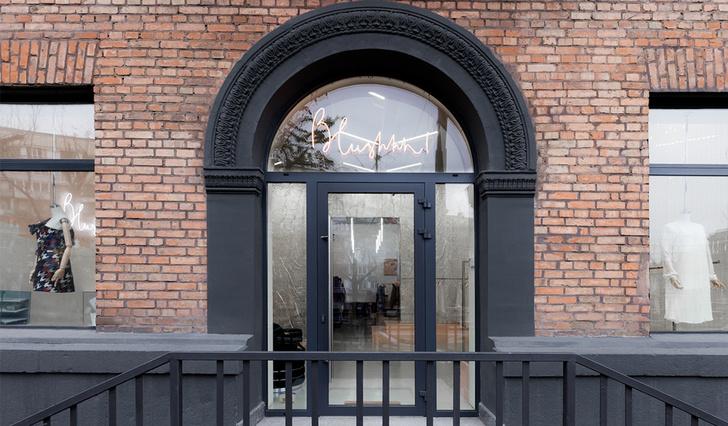 Яркая концепция в минималистичном дизайне в магазине от AKZ Architectura (фото 0)