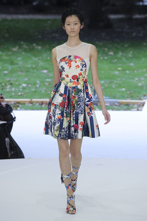 Показы мод Erdem Весна-лето 2011 | Подиум на ELLE - Подиум - фото 2591