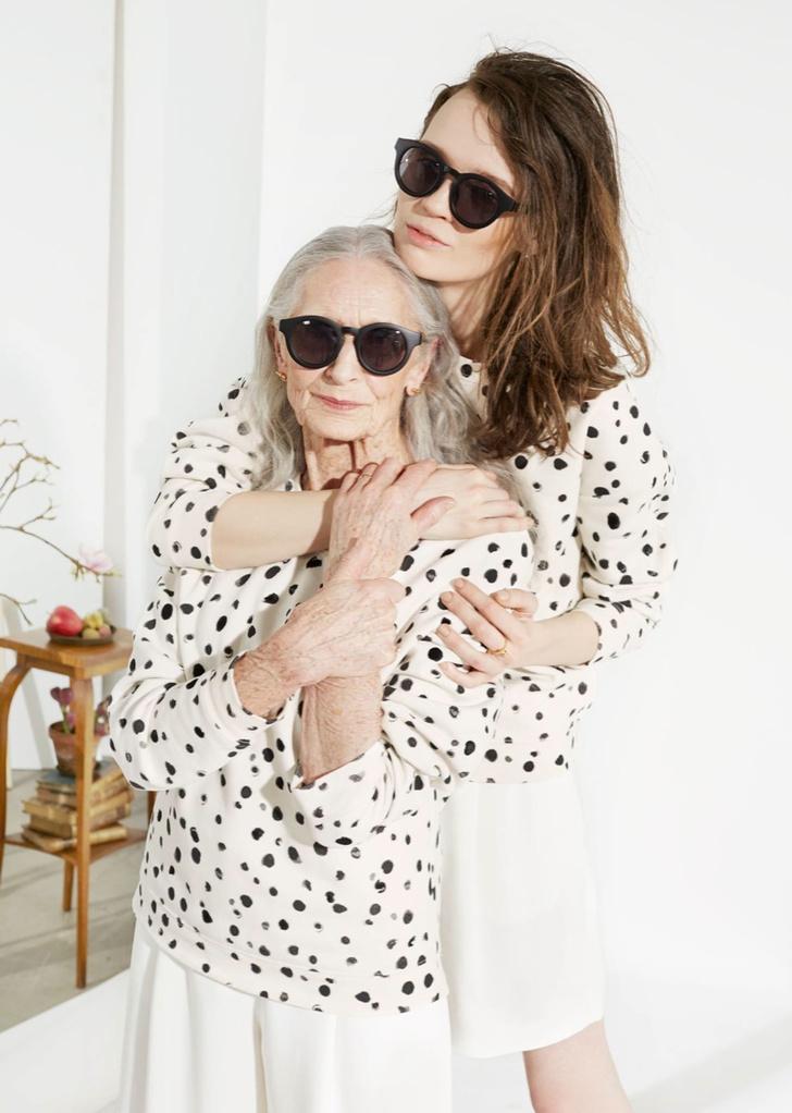 86-летняя модель Дафна Селф: фото 2015