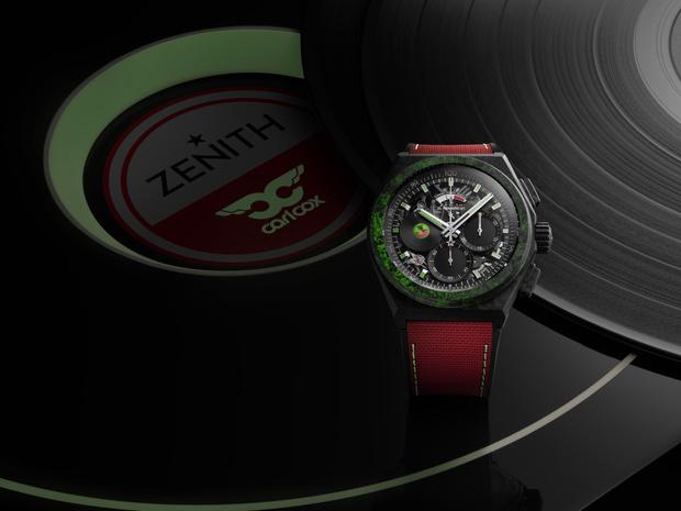 Крупным планом: часы Zenith, которые мануфактура посвятила диджею Карлу Коксу (фото 3)