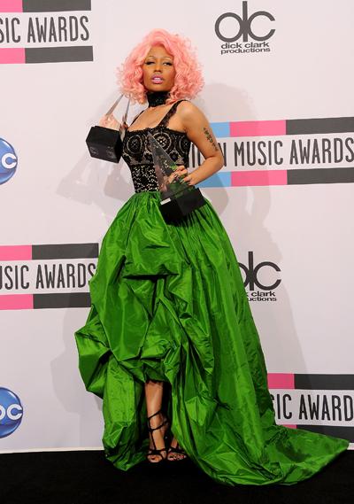 Ники Минаж на American Music Awards 2011