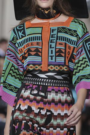 Показ Missoni коллекции сезона Весна-лето 2011 года Prêt-à-porter - www.elle.ru - Подиум - фото 183634