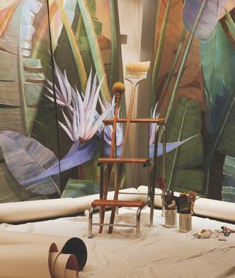 Ремесло и дизайн: Stranger Pinks в интерьерах виллы Джо Понти (фото 4.1)
