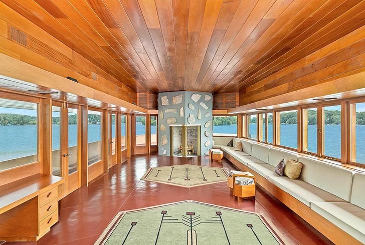Под Нью-Йорком продается частный остров с домами Фрэнка Ллойда Райта (фото 2)