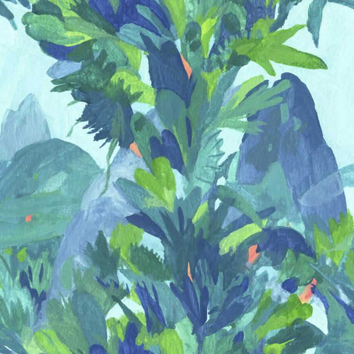 Топ-10: волшебный лес на обоях и тканях (фото 6)