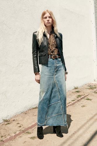 Всего одна юбку на весну — джинсовая миди, как носили наши мамы (фото 11.1)