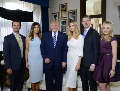 Дональд Трамп станет дедушкой в девятый раз | галерея [1] фото [1]