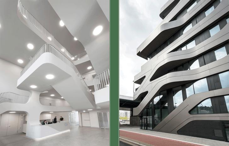 Новый университет в Дюссельдорфе по проекту J. Mayer H. (фото 8)