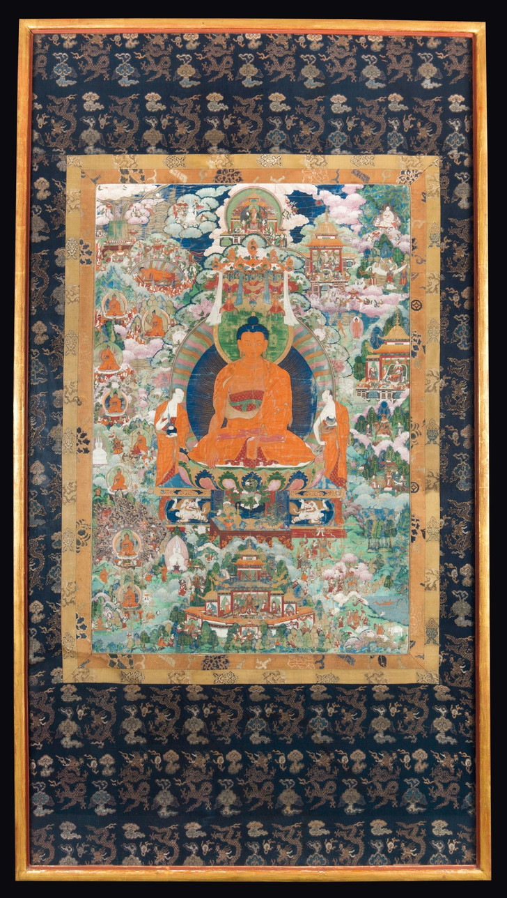 #Лучшедома: лекция о тибетской сакральной живописи (фото 6)