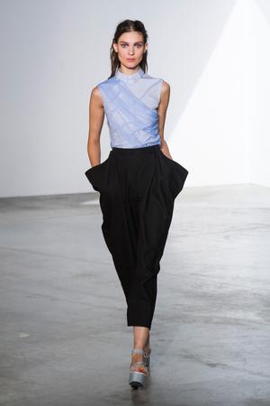 Показы мод Vionnet Весна-лето 2014 | Подиум на ELLE - Подиум - фото 3698