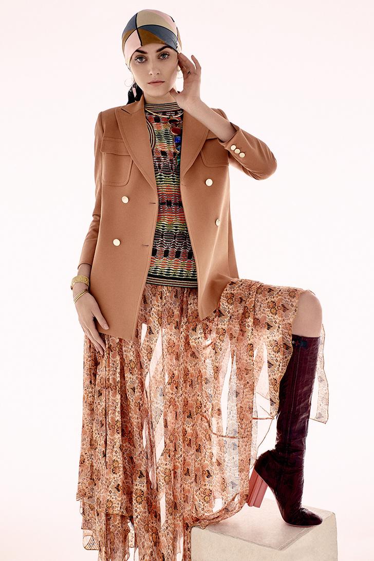 наряды в духе модных 1970-х