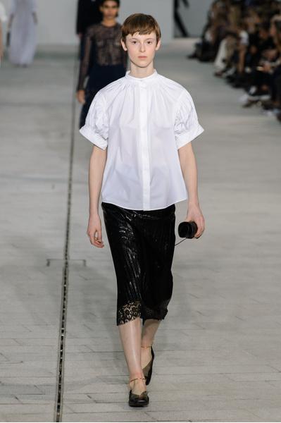 12 белоснежных рубашек в новой коллекции Jil Sander | галерея [1] фото [8]