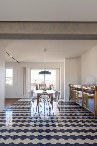 Белая квартира с винтажной плиткой на Сицилии (фото 8.2)