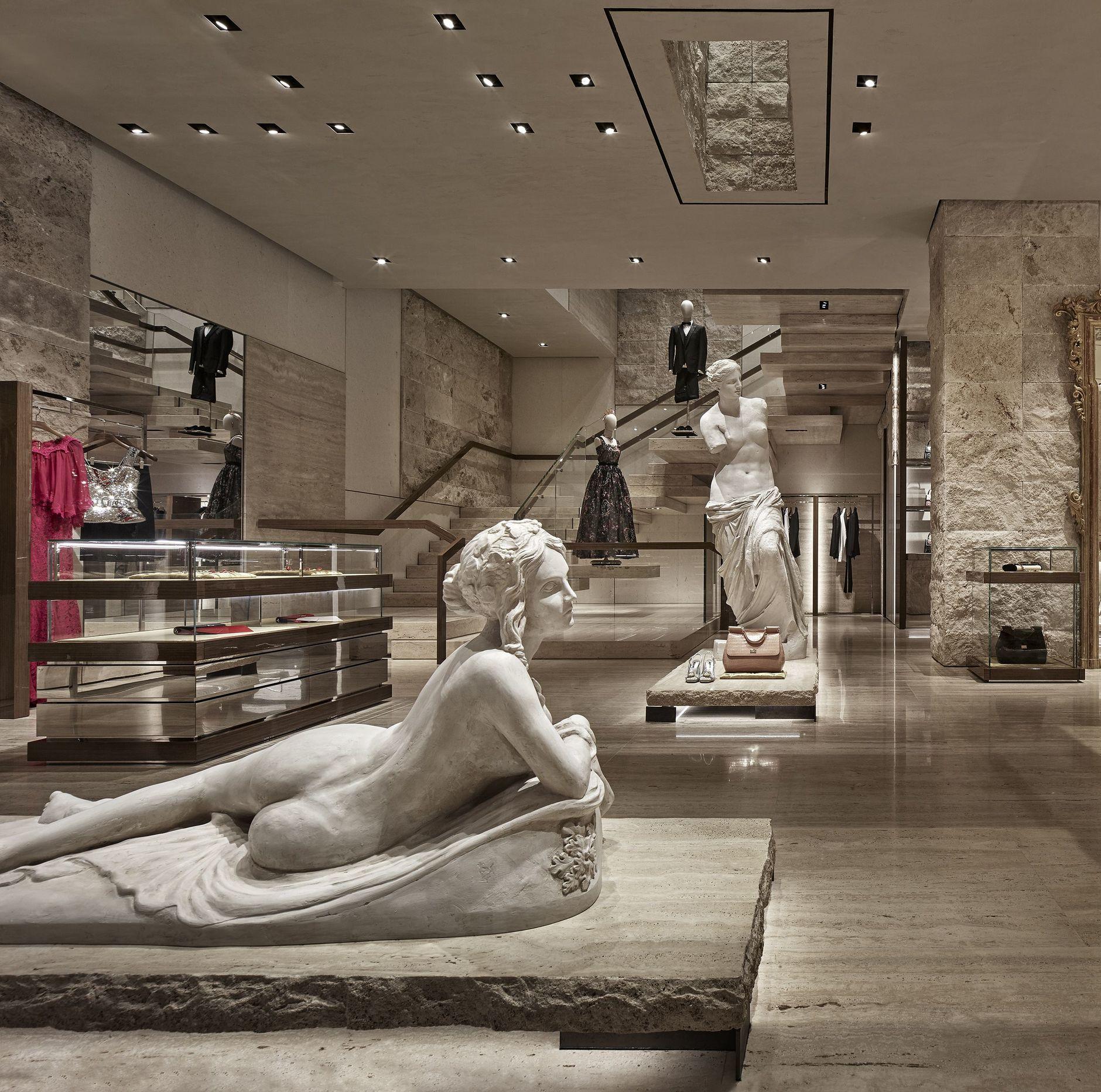 Новая опера: бутик Dolce & Gabbana в Майами (галерея 4, фото 2)