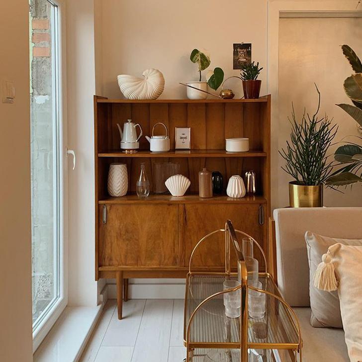 Уютная квартира с винтажной мебелью в Познани (фото 9)