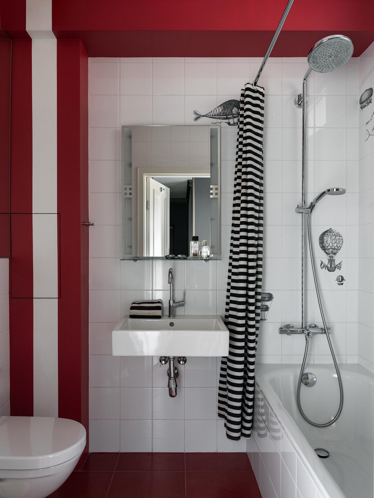 Маленькая ванная комната: 20 решений (галерея 0, фото 2)