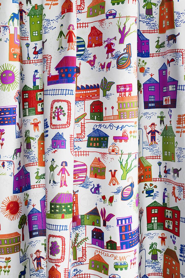 шторы, текстиль, декор, дизайн