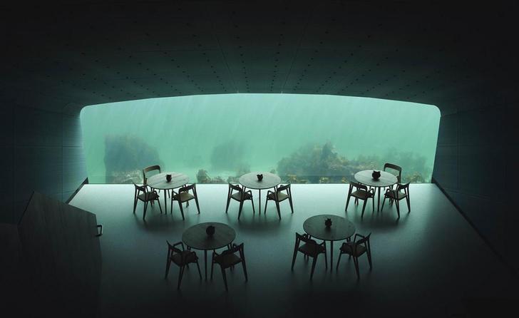 Полное погружение: лучшие подводные рестораны мира (фото 15)